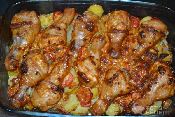 Куриные ножки в майонезе в духовке рецепт 30