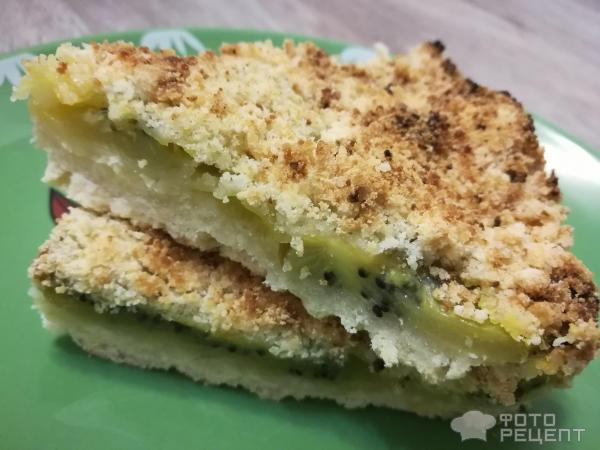 Рецепт пирога с киви в духовке рецепт