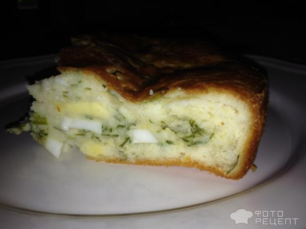 Пирог из лаваша с куриным филе, грибами и сыром