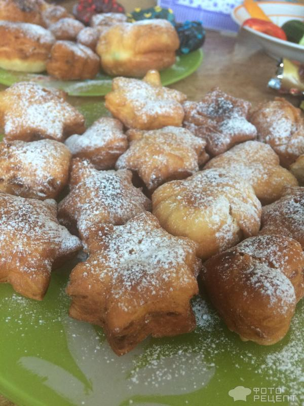 Вкусные дрожжевые пончики рецепт