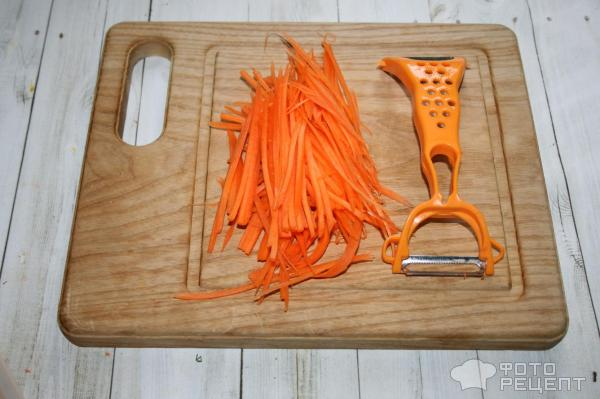 Как нарезать морковку по корейски