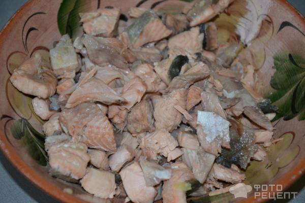 Рыбный суп из горбуши со сливками по-фински фото