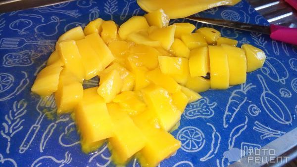 Шарлотка с манго рецепт