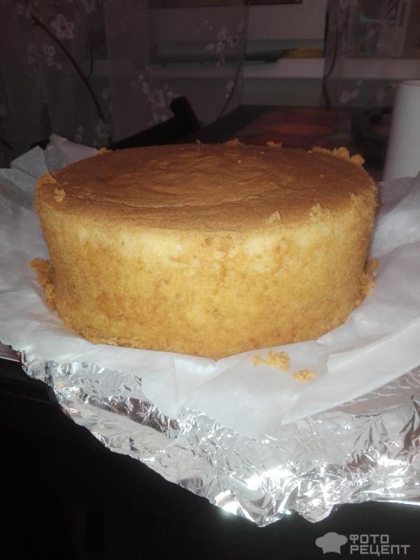 Ванильный шифоновый бисквит рецепт пошагово