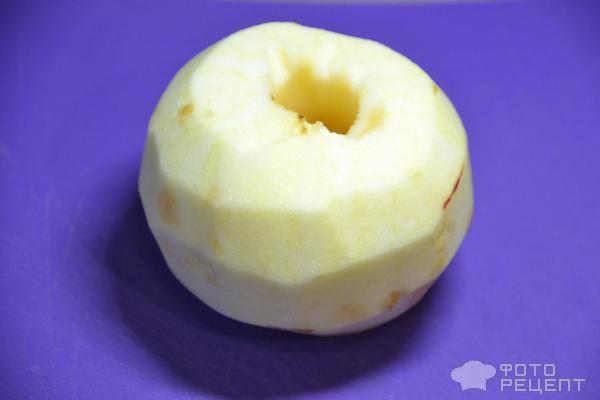 Печенье с яблоками и изюмом фото