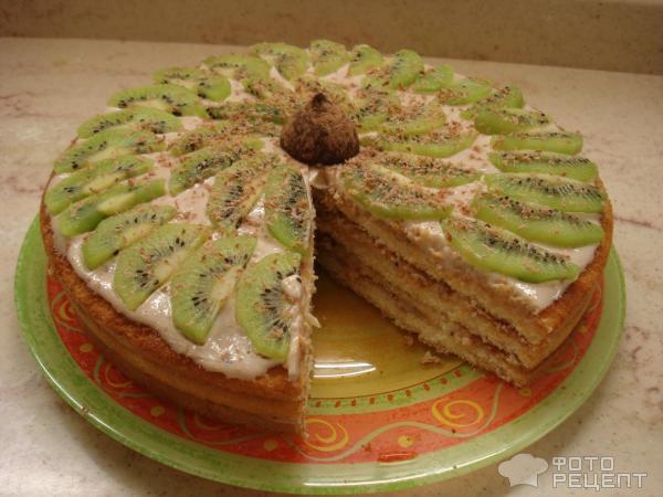Торты с готовых коржей рецепты с фото