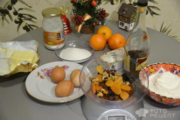 Мандариновый кекс фото