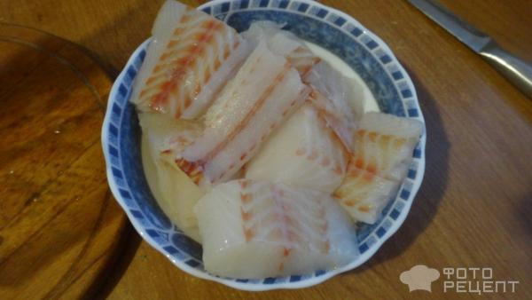 Рыба палтус в кляре фото