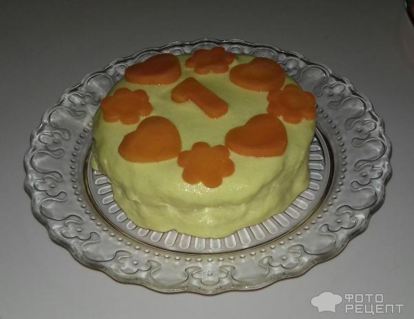 Детский торт На первый День рождения фото