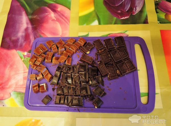 Круассаны с шоколадом фото