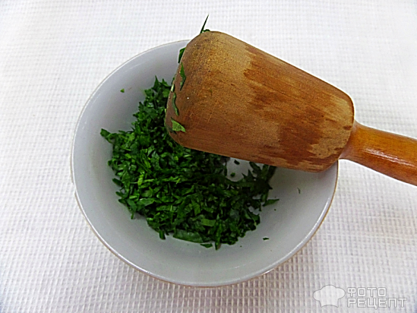 Ачма с зеленью шпината фото