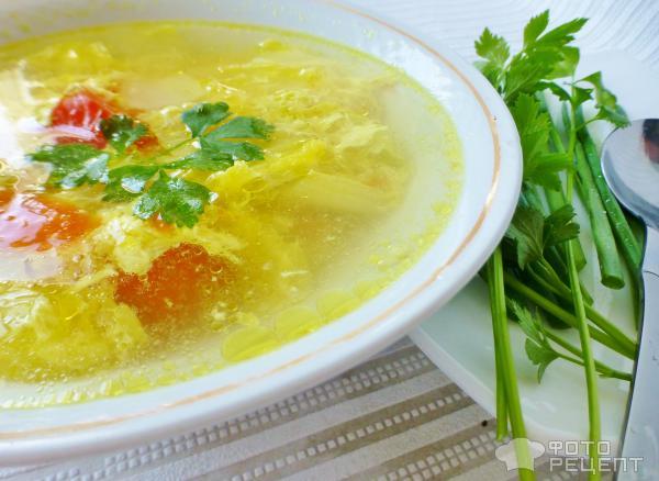 китайский суп готовый