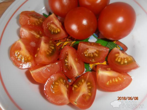 Китайский суп томатно-яичный фото