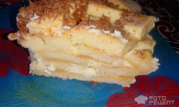 Торт со сгущенкой и сметаной фото