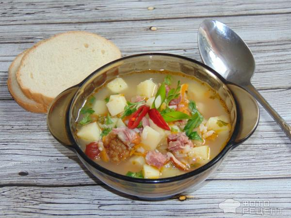 Рисовый суп фото