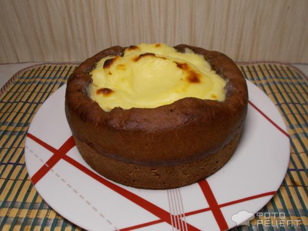 Пирог Вулкан фото