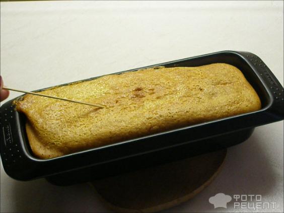 Кекс на сгущенке фото