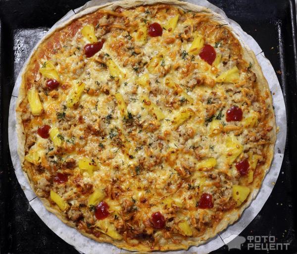 Пицца Адам и Ева фото