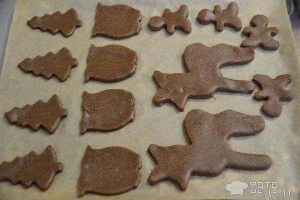 Имбирное печенье фото