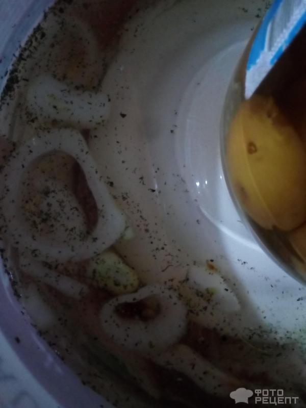 Баранья нога в духовке фото