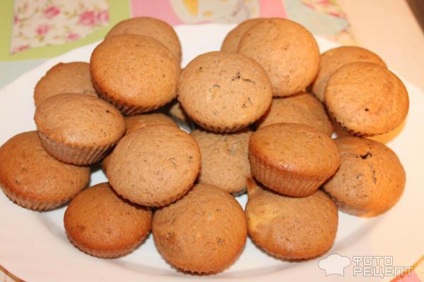 Кофейные кексы фото