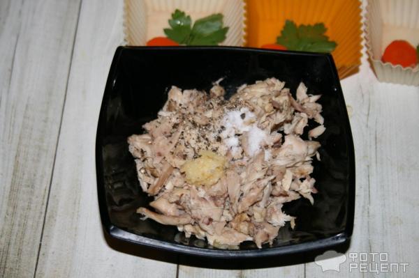 Куриный холодец без желатина, в мини-порциях