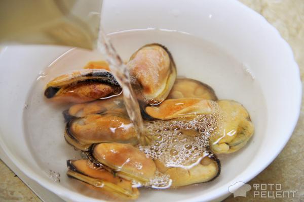 Тыквенный суп с мидиями