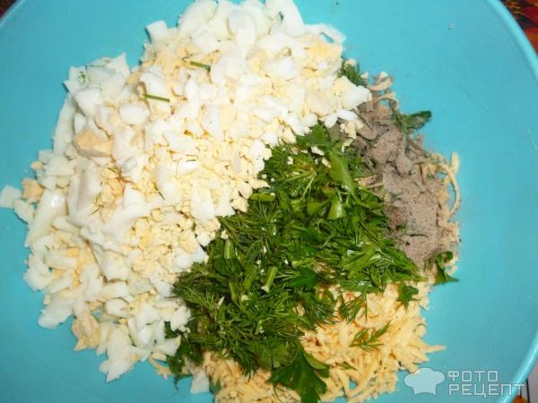 Салат новогодний Мандаринка фото
