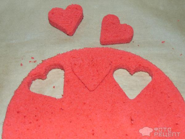 Кекс Валентинка фото