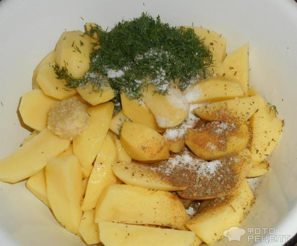 Пряный картофель фото