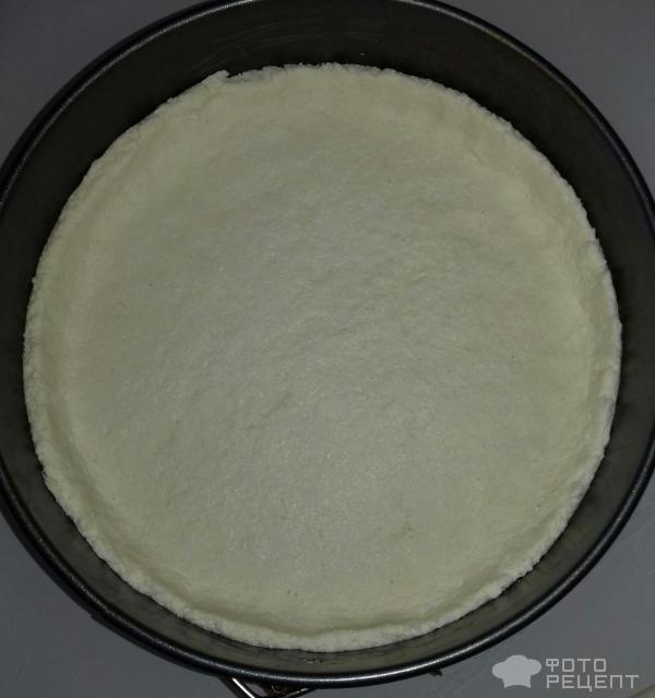 Пирог с вишней и творогом фото