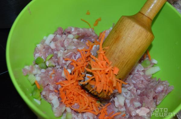 Кабачки, фаршированные мясом и рисом фото