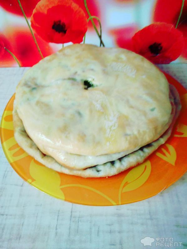 Осетинский пирог фото