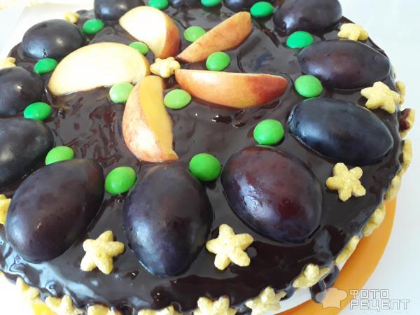 Торт Фруктовое наслаждение фото