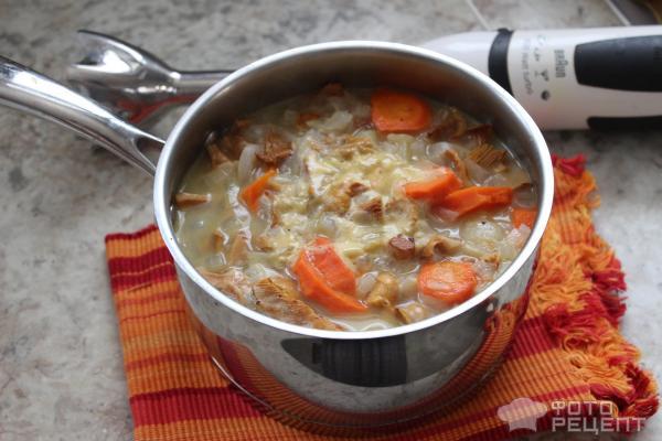 Грибной суп-пюре фото
