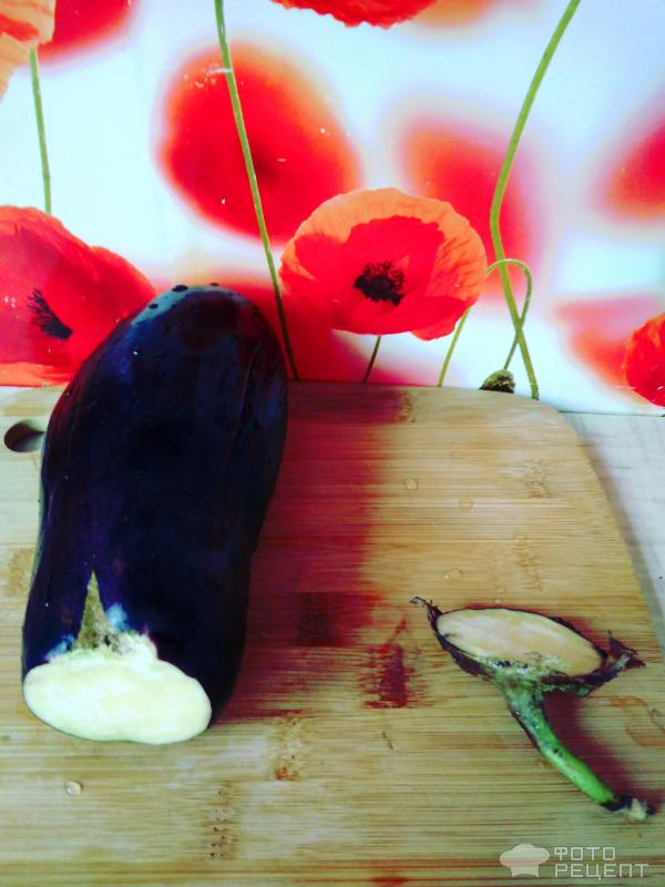 Фаршированные баклажаны с сыром фото