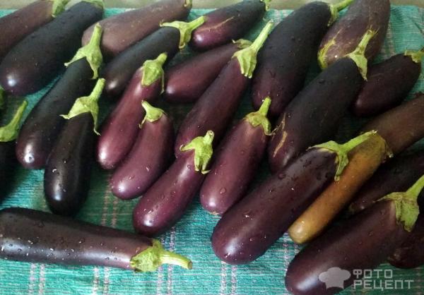 Баклажаны в маринаде фото