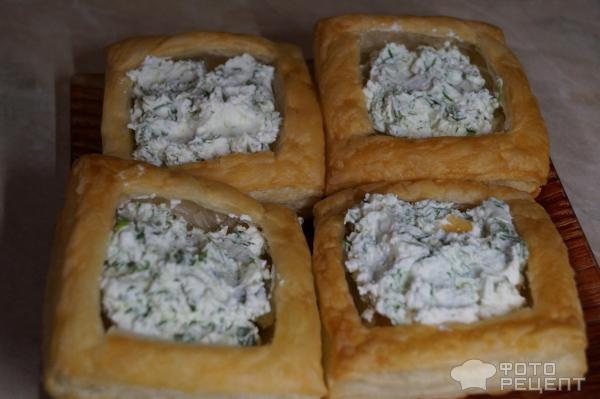 Тарталетки с творожным сыром фото