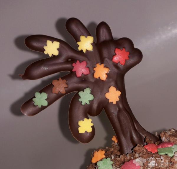 Украшения из шоколада для оформления тортов и пирожных фото