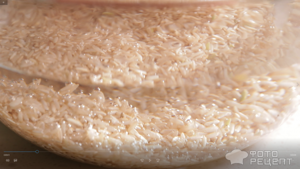 Сочный Стейк с рисовым Табуле фото