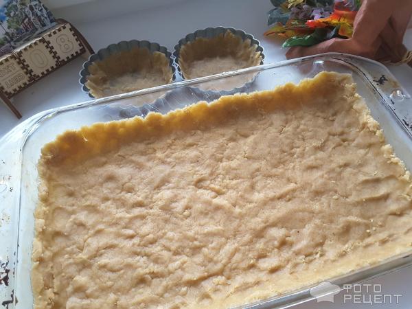 Творожный тарт фото