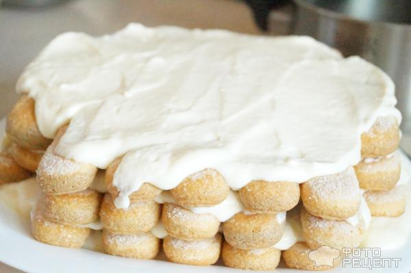 Пирожное а-ля Тирамису фото