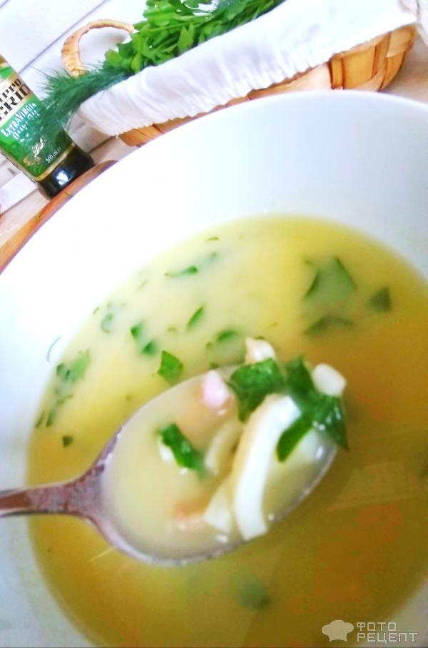 Луковый суп-пюре фото