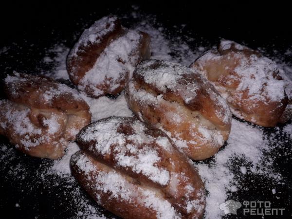 Рождественское печенье Штолленки фото