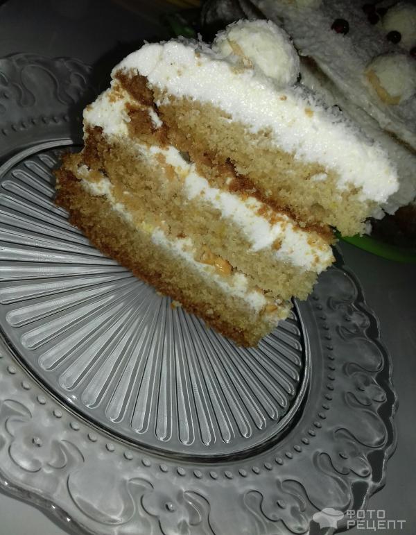Новогодний торт Зимняя сказка фото