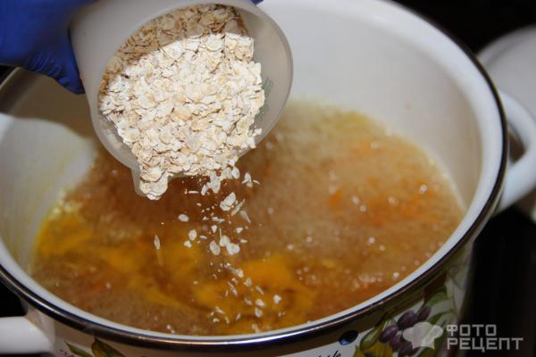 Суп с овсяной крупой фото