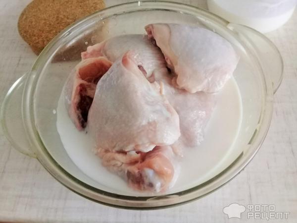 Куриные бедрышки с картофелем фото