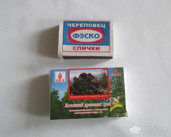 плов с китайскими древесными грибами