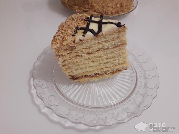 Творожный торт Наполеон фото