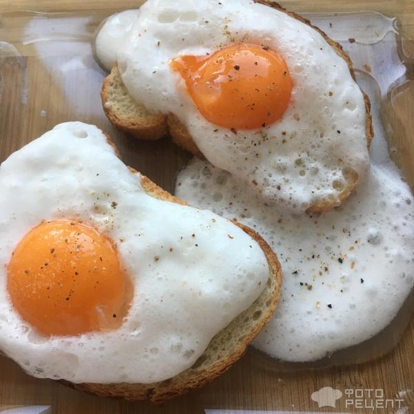 яйца, соль, перец, хлеб, рецепт